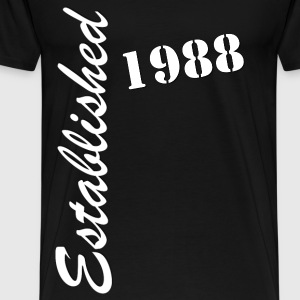 Established 1988 - Men's Premium T-Shirt