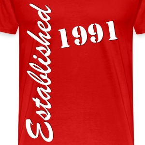 Established 1991 - Men's Premium T-Shirt