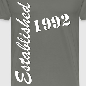 Established 1992 - Men's Premium T-Shirt