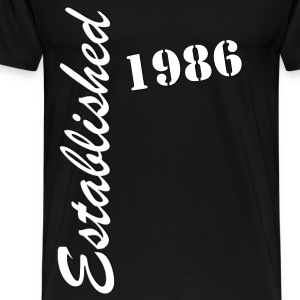 Established 1986 - Men's Premium T-Shirt