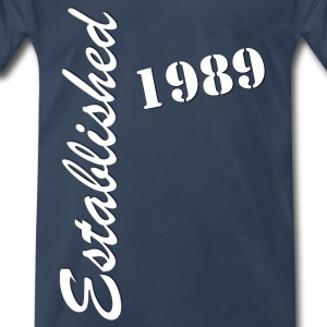 Established 1989 - Men's Premium T-Shirt