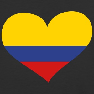 Colombia Heart; Love Colombia T-Shirts - Baseball T-Shirt