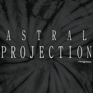 Astral Projection T Shirts - White T-Shirts - Unisex Tie Dye T-Shirt