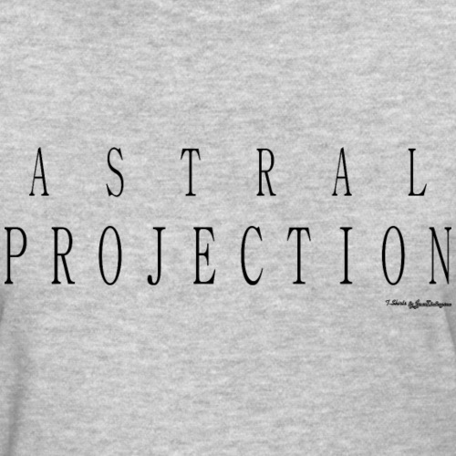 Astral Projection v1 T Shirts - Black