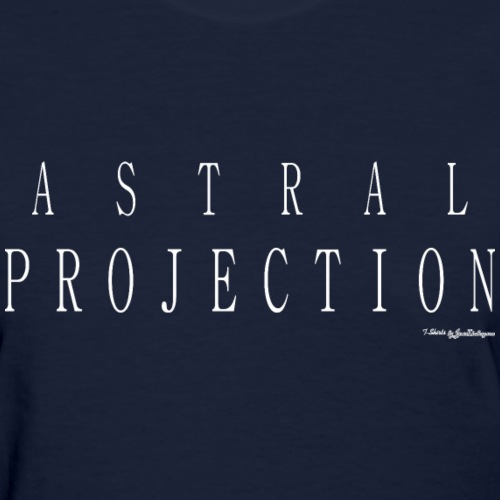 Astral Projection v1 T Shirts - White