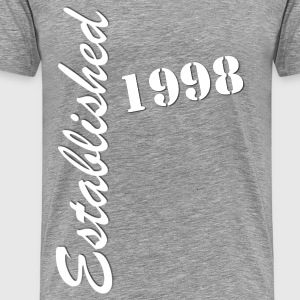 Established 1998 - Men's Premium T-Shirt