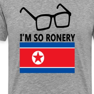 I'm So Ronery T-Shirts - Men's Premium T-Shirt