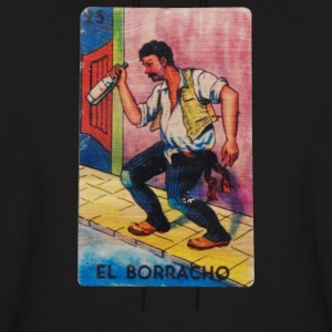 El Borracho The Drunk Tarot - Men's Hoodie