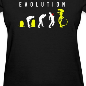 Evolution of Alien - Women's T-Shirt