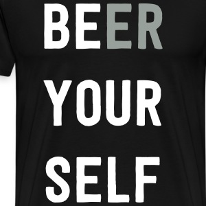 Be Beer Yourself T-Shirts - Men's Premium T-Shirt