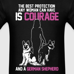 womens german shepherd shirt,german shepherd cloth - Men's T-Shirt