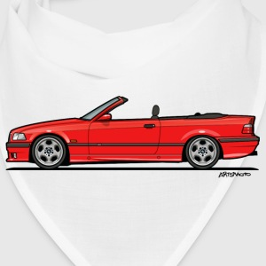 3 Series E36 Red Convertible Caps - Bandana