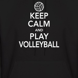 Keep Calm & Volleyball - Men's Hoodie