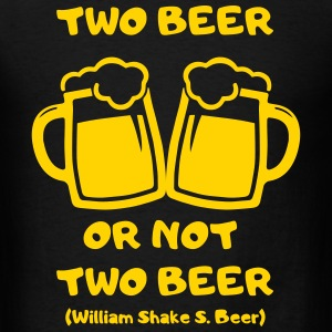two beer T-Shirts - Men's T-Shirt