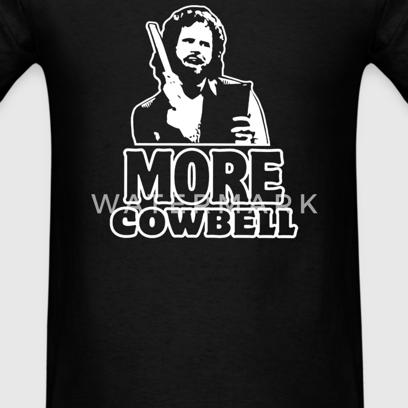 more Cowbell - Men's T-Shirt