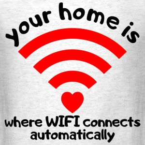 wifi home T-Shirts - Men's T-Shirt