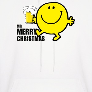 MR MEN MERRY CHRISTMAS - Men's Hoodie