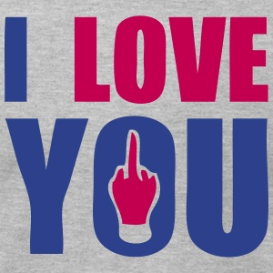i love you fuck T-Shirts - Men's T-Shirt by American Apparel