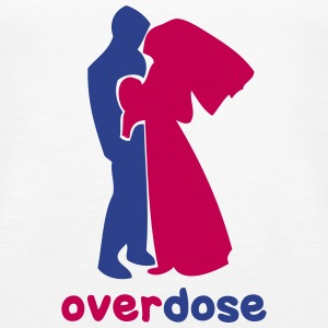 wedding overdose Tanks - Women's Premium Tank Top