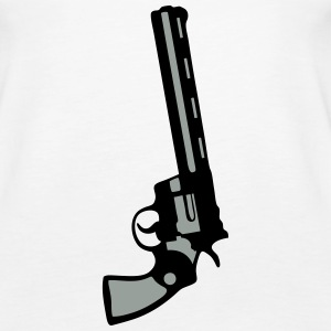 revolver pistol gun in 357 Tanks - Women's Premium Tank Top