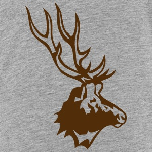 deer wild animal profile 8 Kids' Shirts - Kids' Premium T-Shirt