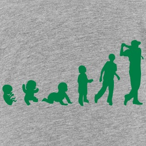 evolution golf swing player 210 Kids' Shirts - Kids' Premium T-Shirt
