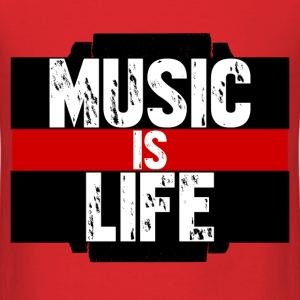 Music Is Life T - Men's T-Shirt