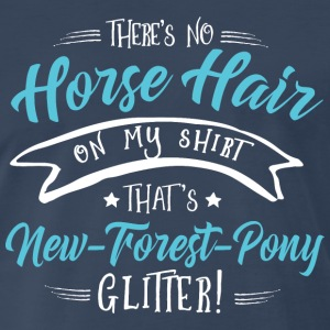Glitter New-Forest-Pony  T-Shirts - Men's Premium T-Shirt