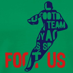 football usa text 204 words T-Shirts - Men's Premium T-Shirt