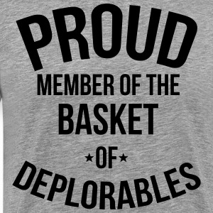 Proud Member of the Basket of Deplorables T-Shirts - Men's Premium T-Shirt