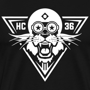 Lion Hardcore 36 T-Shirts - Men's Premium T-Shirt
