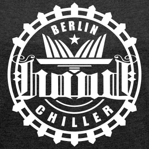 Hood Chiller Berlin Olymp T-Shirts - Women´s Rolled Sleeve Boxy T-Shirt