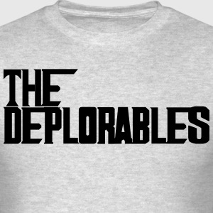 Trump and The Deplorables T-Shirts - Men's T-Shirt