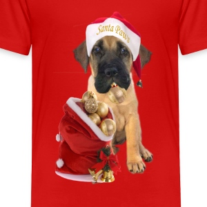 Mastiff Santa Paws - Toddler Premium T-Shirt