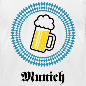 Munich 1 Beer (Bavaria Germany) T-Shirts - Men's T-Shirt by American Apparel