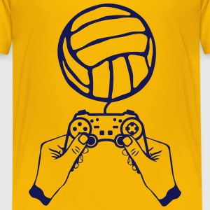 volleyball paddle hand joystick games Kids' Shirts - Kids' Premium T-Shirt
