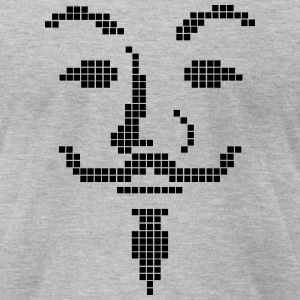 anonymous pixels cursor T-Shirts - Men's T-Shirt by American Apparel