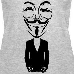 anonymous mask 5 Tanks - Women's Premium Tank Top