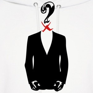 anonymous mask 6 1 suit Hoodies - Men's Hoodie