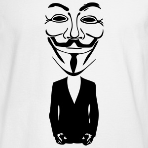 anonymous mask 5 Long Sleeve Shirts - Men's Long Sleeve T-Shirt