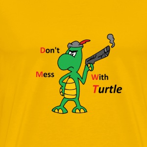 Dont medd with TURTLE  - Men's Premium T-Shirt