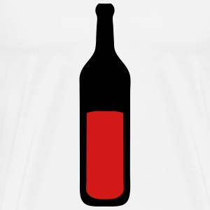 wine bottle 202 T-Shirts - Men's Premium T-Shirt