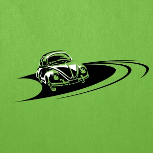 Beetle Car Racing Track Bags & backpacks - Tote Bag