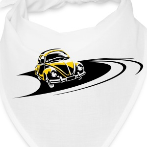Beetle Car Racing Track Caps - Bandana