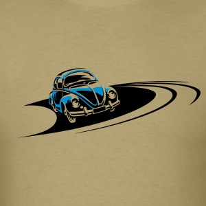 Beetle Car Racing Track T-Shirts - Men's T-Shirt