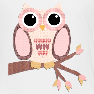 Tree Top Pink Owl Baby & Toddler Shirts - Toddler Premium T-Shirt