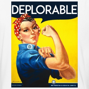 DEPLORABLE TRUMP CLINTON ROSIE DEPLORABLES - Baseball T-Shirt