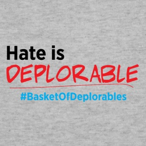 Hate is Deplorable: Anti-Trump 2016 Bags & backpacks - Sweatshirt Cinch Bag