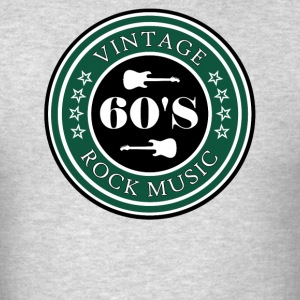 Vintage 60's Rock - Men's T-Shirt