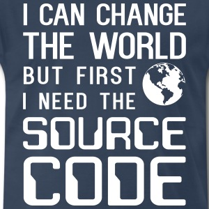 I can change the word but need the source code T-Shirts - Men's Premium T-Shirt